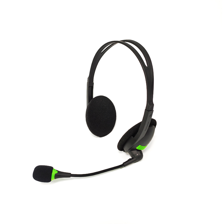 Low Price Classic Style On Ear Wired Headset with Microphone for Promotion Cheap PC Headphone Extra Bass Sound for Computer
