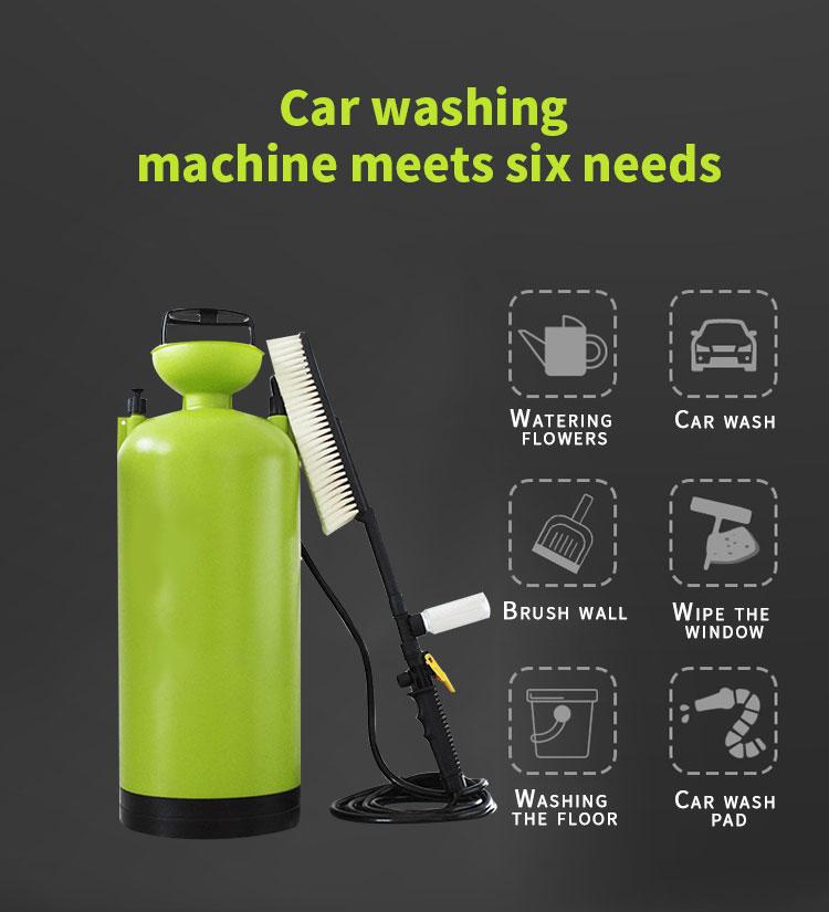 High Pressure Manual Car Washer Machine Household Washer Hand Portable Car Washer