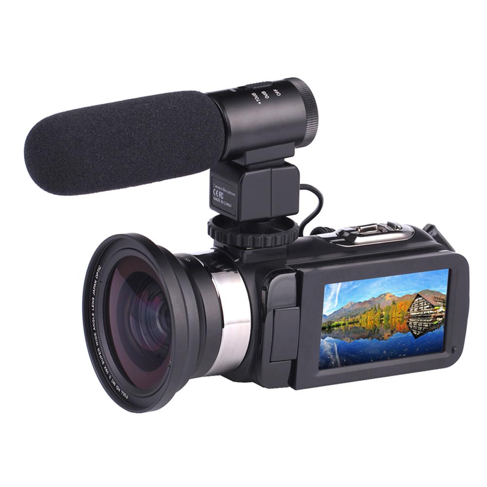 Câmera Full HD 30MP Handy Recorder Camcorder Ação Da Câmera Foto Atacado