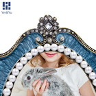 European style metal photo frame high-grade pearl picture frame wholesale picture frames 5x7
