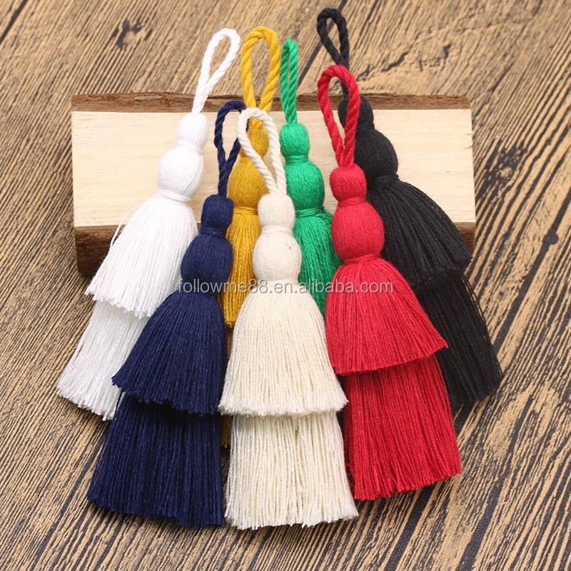 Large Cotton Tassel 12 cm