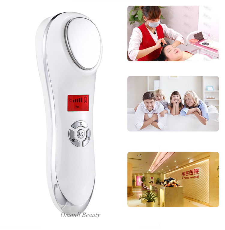 New Arrival Private Label OEM Acceptable 3 Centigrade Cool Ultrasonic Beauty & Health Instrument