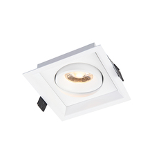 7W 10W Tiltable Inetchangeable <span class=keywords><strong>מודול</strong></span> כיכר Slim עמוק שקוע LED תקרת Downlight
