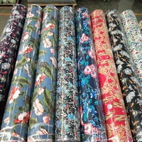 Hot Selling Product 100% Printed Viscose Rayon Fabric For Home Textile