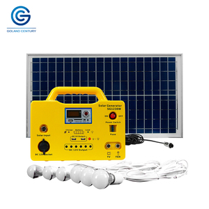 30W 18AH 12V DC Portable Solar Lighting Energy Kit for Home Lighting