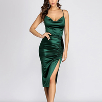 Factory wholesale casual women clothing wrap plus size maxi sexy bodycon evening party dress