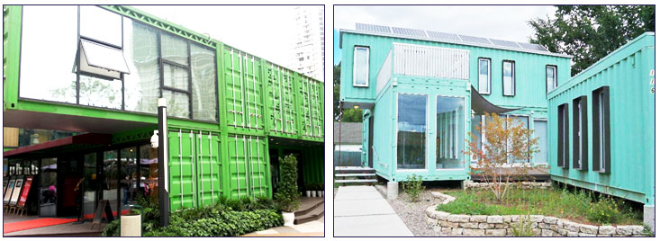 modified shipping container