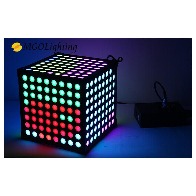 3d magic light effect cube light bar disco dj equipment led moving head wash led stage light