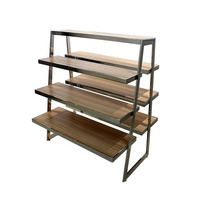 Factory Direct Sell Top grade Supermarket Wooden Display Rack Shelf