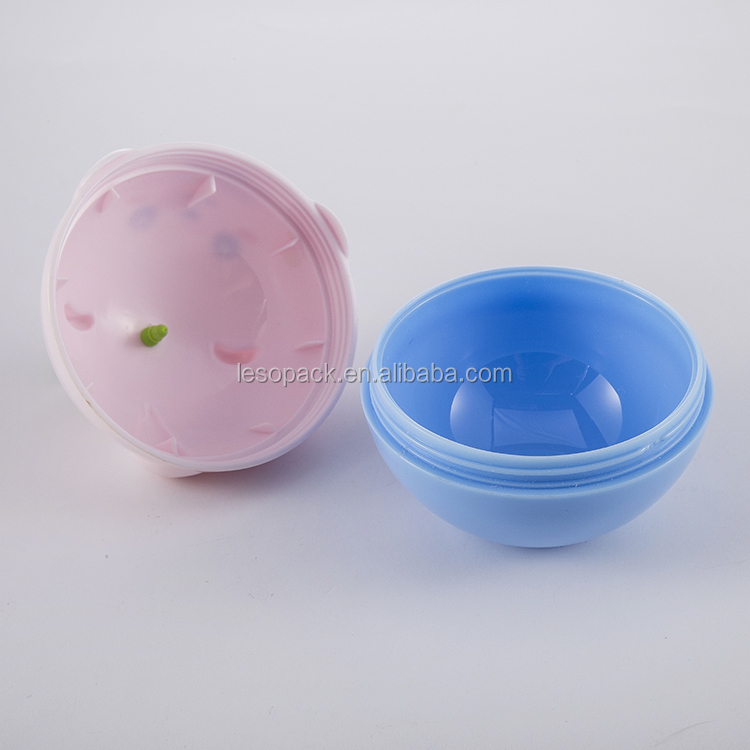 60g lovely cosmetic plastic cream jar for child