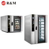 convectional rotary (rack)toaster speed convect oven with forced hot wind 10 tray convection domestic built in oven