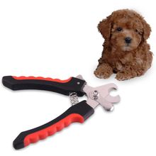 Commercio all'ingrosso professionale per <span class=keywords><strong>pet</strong></span> claws grooming trimmer con falce del cane in acciaio inox nail clippers