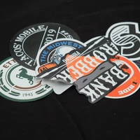 Custom Brand Logo Die Cut Sticker Printing