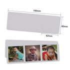 "Amazon hot sell Customized Kids baby magnetic photo display 6"" x 8"" magnetic photo pocket 4"" x 6"" picture frame"