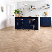 Naturally Inspired French & European Oak Solid Herringbone Parquet Flooring