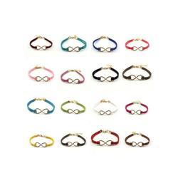 Adjustable Bracelet Jewelry Infinity Symbol Charm