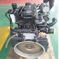 4 cylinder 160 HP diesel engine for dongfeng ISD160 4.5 l supercharged intercooled engine assembly
