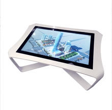 2K custom multi-touch interactieve koffie machine digitale handtekening smart multi-touch tafel met luidspreker