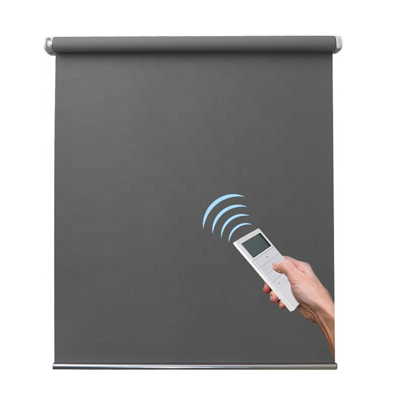 WiFi Smart Home Decoration Remote Control Electric Motorized Window Roller Blinds Shades