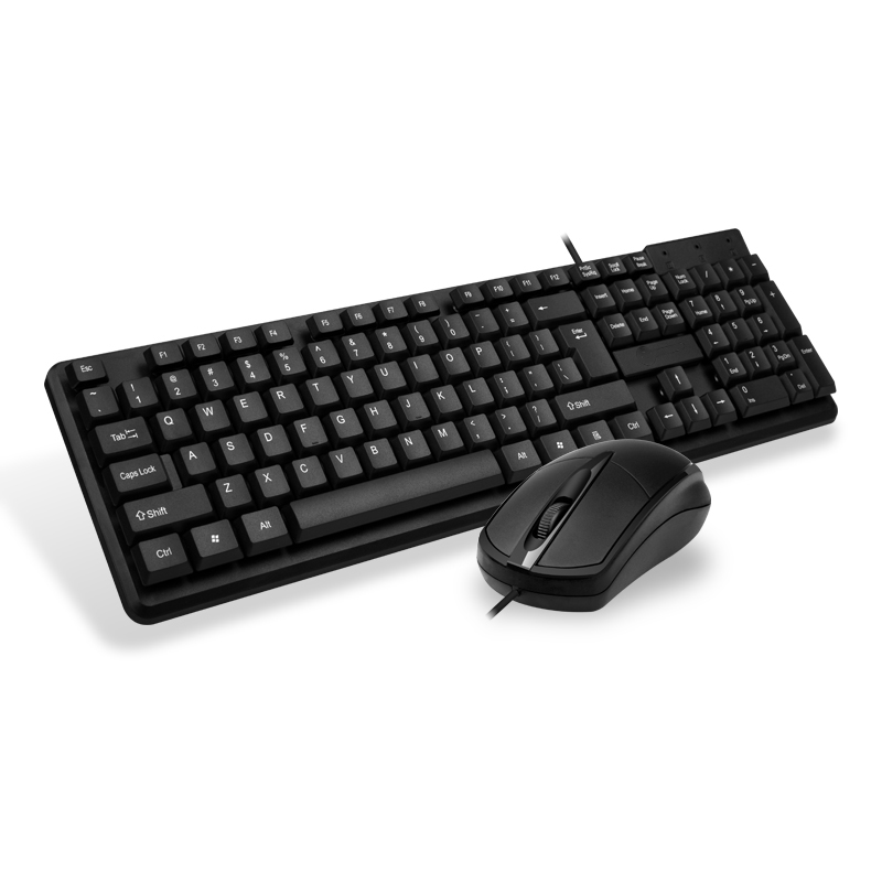 Office game keyboard and mouse set, Computer PC gaming Wired USB mouse and Keyboard combo