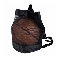Factory Wholesale Gym Basketball Backpack Drawstring Net Bag for Sports