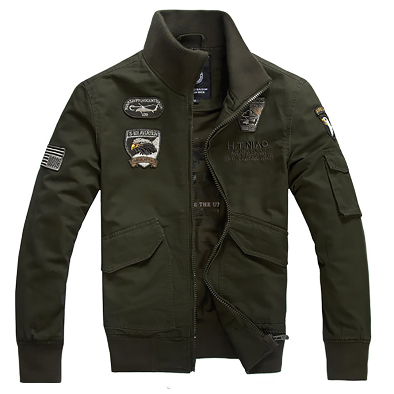 New <strong>style</strong> plus-size cotton <strong>jacket</strong> men's casual <strong>military</strong> <strong>jacket</strong> work <strong>jacket</strong> wholesale hot sale