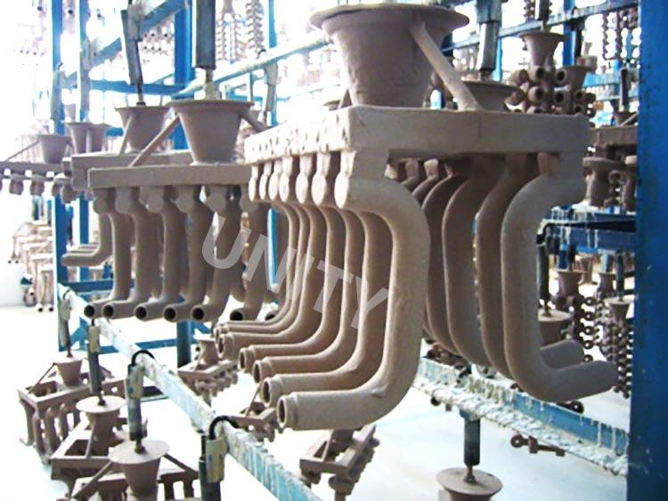 De vorm van het investeringsafgietsel van de deurhandvat van het satijnroestvrije staal met 53*6.5mm nam toe
