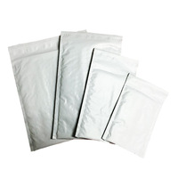 White Custom Logo Padded Bubble Envelopes Shipping Packaging Poly Bubble Mailer
