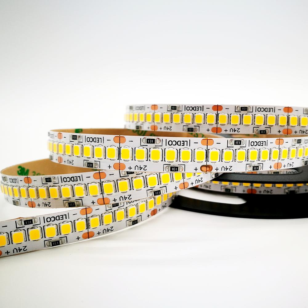 Led strip 2835 240 led energy saving - IP 20 or 65 - 5 meters - 3000 K - 4000 K - 5500 K