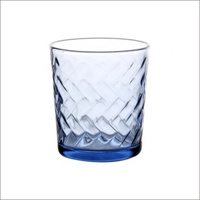 Green apple glass cup , Blue glass cup, drinking glass cup factory