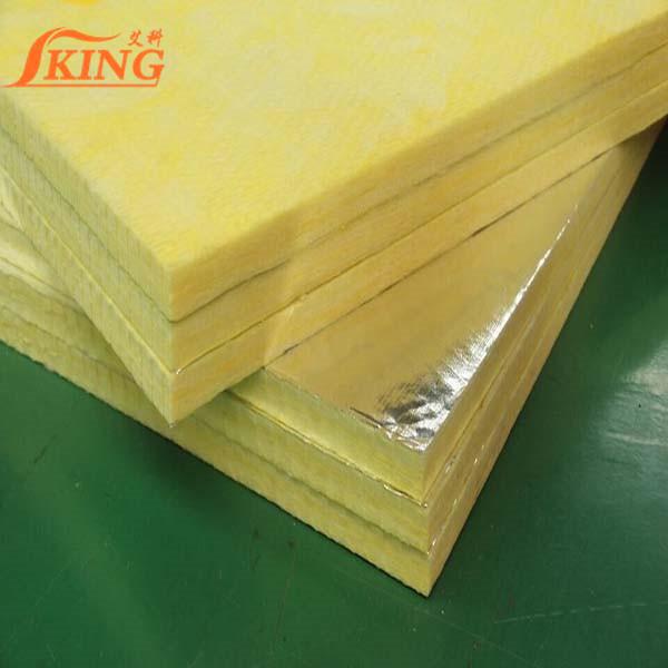 thermal retardant fiberglass panel/glass wool slabs