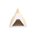 Pet Toys Cat Scratching Hot China Products Wholesale High Quality Triangle Wood Cat Scratching Board Cat Tree