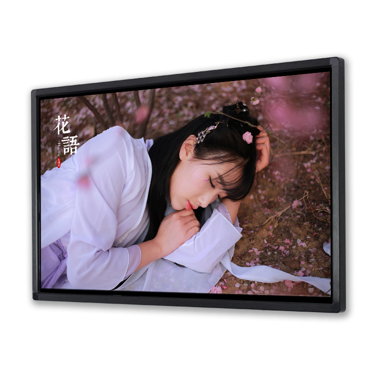 Cheaper price <strong>22</strong>&quot; Wall Mounted Wifi Android Internet Lcd Advertising Display Player/Ad Display Smart LCD TV
