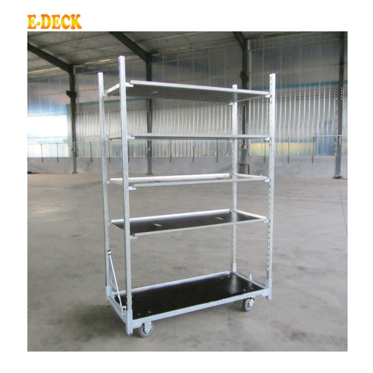 OEM/ODM Dutch Blume Trolley Blume Rack Display Rack