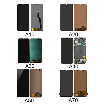 Display lcd touch screen original for samsung A70 display lcd screen for samsung A10 A20 A30 A40 A50 A60 A70