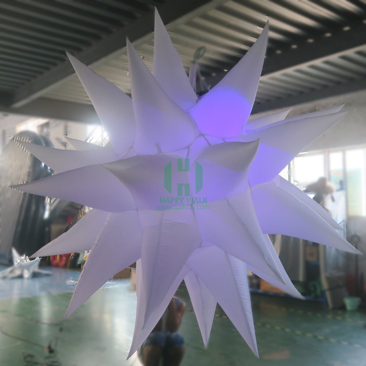 Low Price PVC Led Stage Flash Light Inflatable Star for Decor Inflatable Star Christmas Lights Romantic Inflatable Star Light