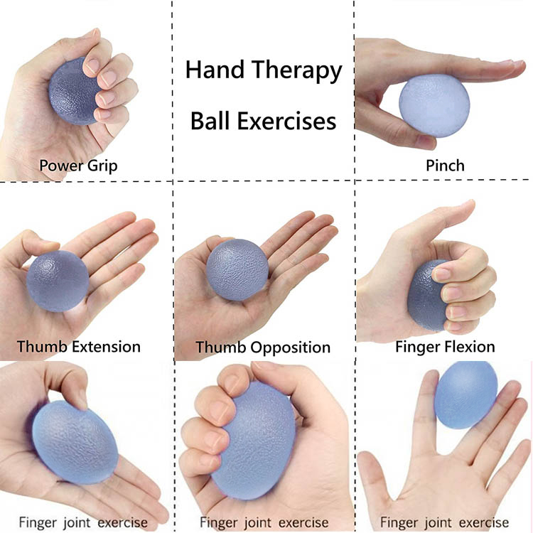 TPR Hand Grip Gel Bouncing Ball with customize logo
