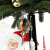 120 cm Rotating Christmas decoration Tree singing santa claus led light ornamental figurine indoor bolsas de regalo navidad