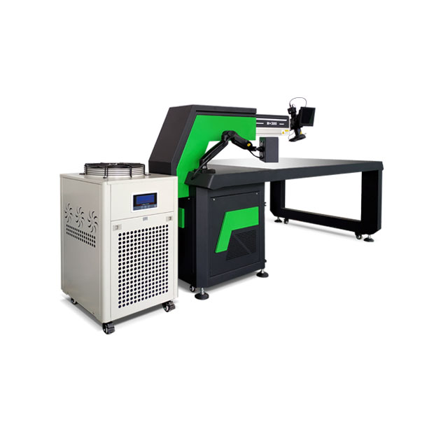 Laser welding equipment with CCD