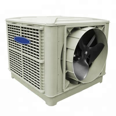 Wet curtain cooling fan <strong>Portable</strong> machine for Industrial Use