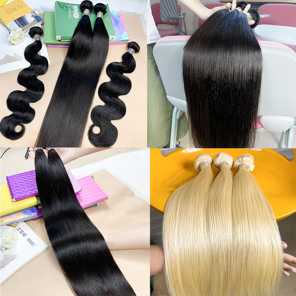 Natural raw virgin Indian hair vendor from India, wholesale Indian temple hair unprocessed, India human hair directly from India