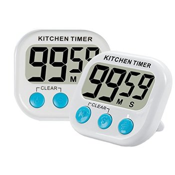 Plastic 100min Count-up/down Magnetic Digital Cooking Timer Kitchen with Stand