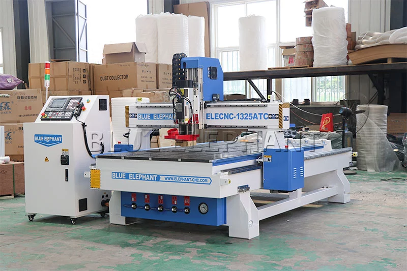 Cost-effective 1325 advertising cnc router machine for aluminum, wood, perspex and hardwood