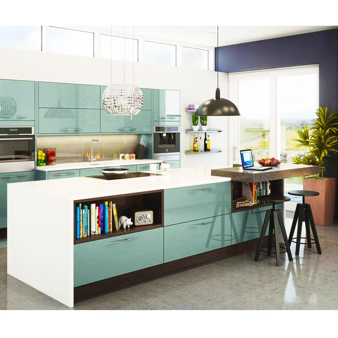 Cina Pabrik Desain Modern Lemari Dapur