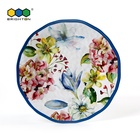 Melamine food safety 9 inch dessert plate 11 inch dinner plate for plastic dinnerware