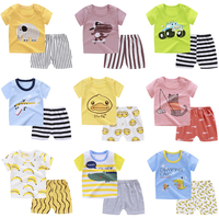 Bulk Wholesale elegant fashion children boutique summer cotton boy girl baby clothes