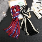 wholesale colorful Women Winter Thick Cable Knit Wrap Warm Scarf