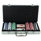 Hot Sale Clay Poker Chips Set 500 Piece With Aluminium Box
