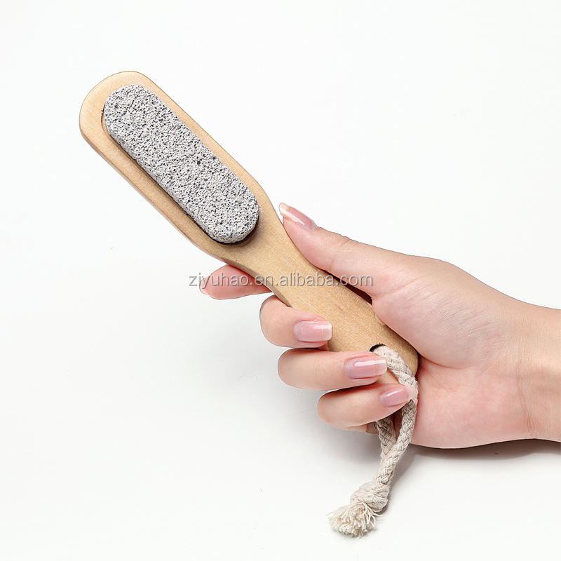 Comfortable pumice stone body brush shower massage brush