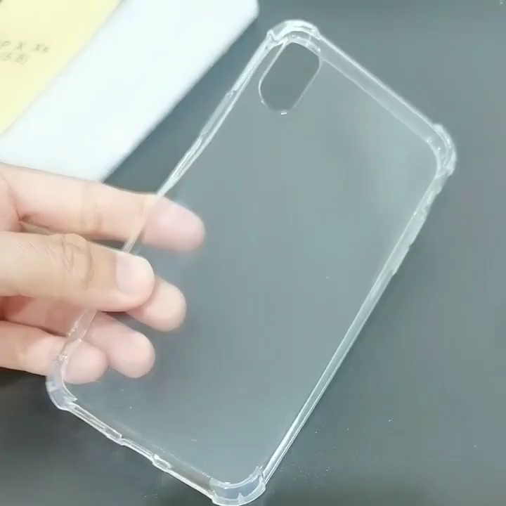 Shockproof transparent clear soft tpu case for OnePlus 5 1+5 Airbag Mobile Phone Case